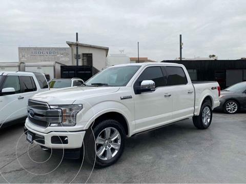 Ford Lobo Platinum 4x4 Cabina Doble usado (2018) color Blanco precio $725,800