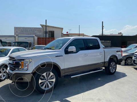 Ford Lobo Doble Cabina Lariat 4x4 usado (2018) color Blanco precio $719,800