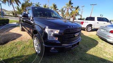 Ford Lobo LIMITED CREW CAB 4X4 usado (2017) color Negro precio $760,000