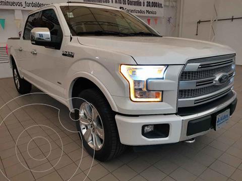 Ford Lobo Platinum 4x4 Cabina Doble usado (2015) color Blanco precio $535,000
