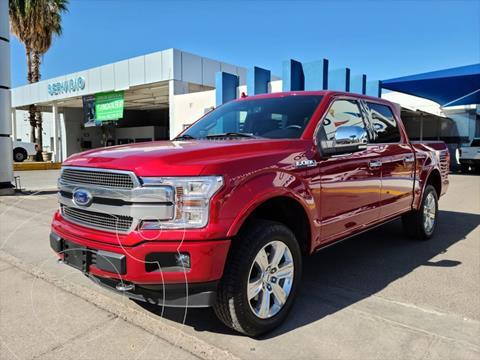 Ford Lobo PLATINUM CREW CAB 4X4 3.5L GTDI usado (2020) color Rojo precio $870,000