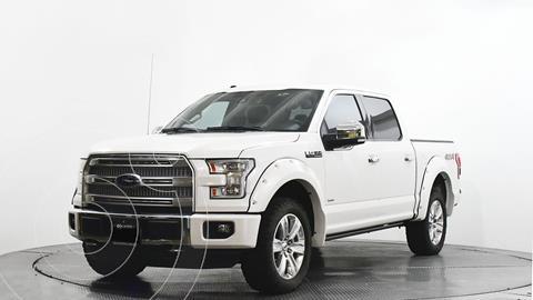 Ford Lobo Doble Cabina Platinum 4x4 usado (2016) color Blanco precio $670,000