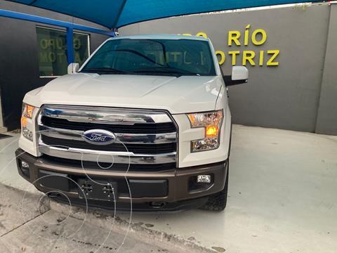 Ford Lobo Lariat 4x4 Cabina Doble usado (2015) color Blanco precio $579,800