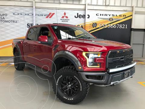 Ford Lobo Cabina Regular XLT 4x4 V8 usado (2017) color Rojo precio $949,000