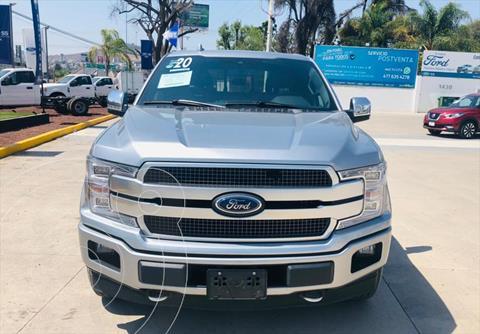 Ford Lobo PLATINUM CREW CAB 4X4 3.5L GTDI usado (2020) color Plata precio $890,000