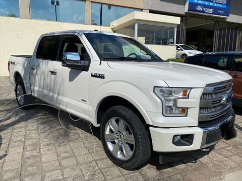 Ford Lobo DOBLE CABINA PLATINUM 4X4 ECOBOOST usado (2017) color Blanco precio $798,000