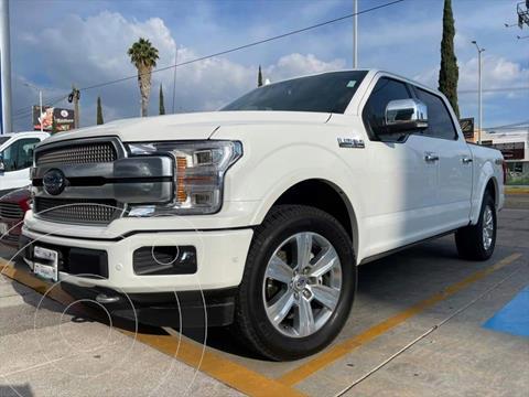 Ford Lobo PLATINUM CREW CAB 4X4 3.5L GTDI usado (2020) color Blanco precio $950,000