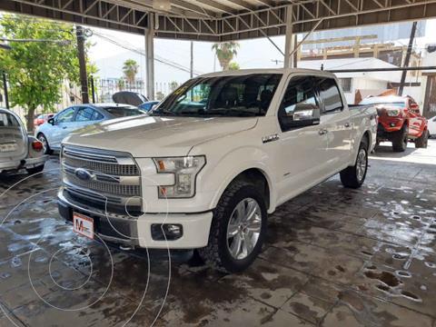 Ford Lobo Platinum 4x4 Cabina Doble usado (2015) color Blanco precio $569,000