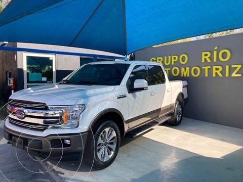 foto Ford Lobo Doble Cabina Lariat 4x4 usado (2018) color Blanco precio $690,000