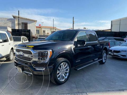 Ford Lobo Doble Cabina Platinum Limited usado (2020) color Negro precio $1,380,800