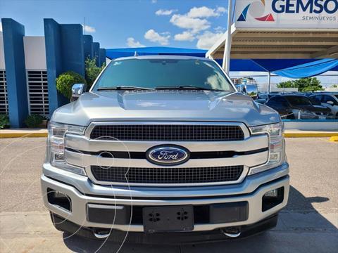 Ford Lobo PLATINUM CREW CAB 4X4 3.5L GTDI usado (2020) color Plata precio $960,000
