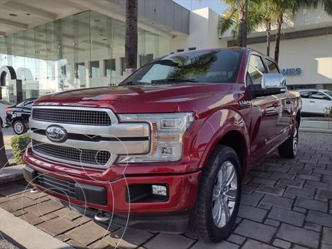 Ford Lobo Doble Cabina Platinum 4x4 usado (2018) color Rojo precio $795,000