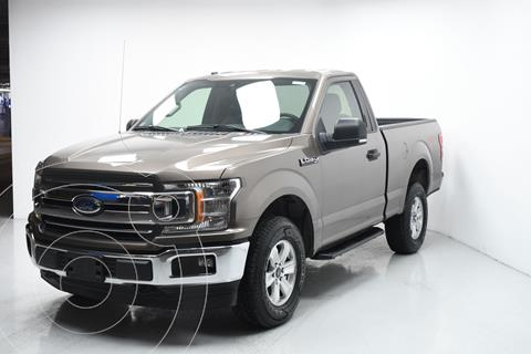 Ford Lobo Cabina Regular XLT 4x4 V8 usado (2019) color Cafe precio $607,815