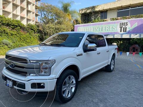 Ford Lobo Platinum Crew Cab 4x4 usado (2018) color Blanco precio $789,000