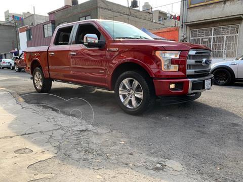 foto Ford Lobo Platinum 4x4 Cabina Doble usado (2017) color Rojo precio $710,000