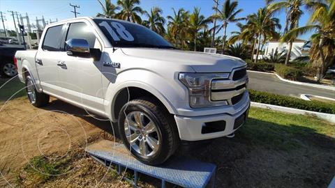 Ford Lobo Platinum Crew Cab 4x4 usado (2018) color Blanco precio $770,000