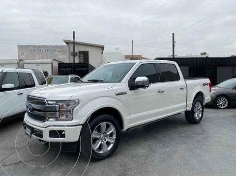Ford Lobo Platinum usado (2018) color Blanco precio $715,800
