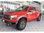 Foto venta Auto Seminuevo Ford Lobo RAPTOR Doble Cabina SVT 4x4  (2012) color Rojo precio $485,000