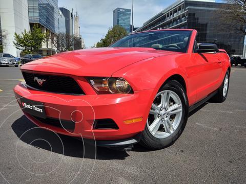 Ford Mustang 5.0L V8 Aut usado (2011) color Rojo Racing precio u$s49.900