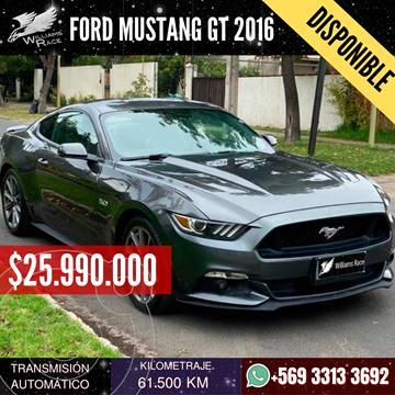 Ford Mustang 5.0 GT Aut usado (2016) color Gris precio $25.990.000