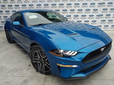 Ford Mustang ECOBOOST AT 2.3L usado (2020) color Azul Electrico precio $827,000
