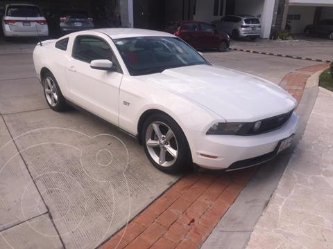Ford Mustang GT Equipado 5.0L V8 Aut usado (2010) color Blanco precio $250,000
