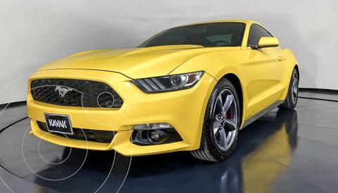 Ford Mustang ST Coupe 3.7L V6 usado (2016) color Amarillo precio $374,999
