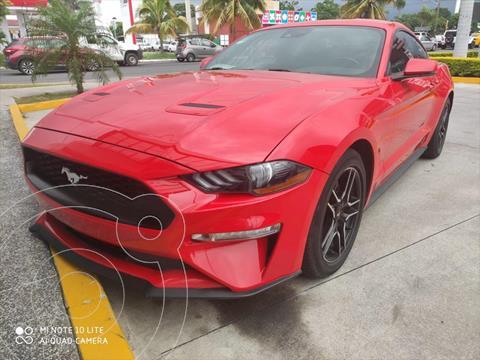 Ford Mustang ECOBOOST AT 2.3L usado (2019) color Rojo precio $575,000