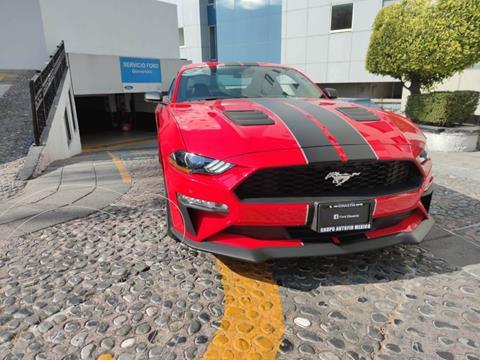 Ford Mustang EcoBoost Aut usado (2020) color Rojo financiado en mensualidades(enganche $213,175)