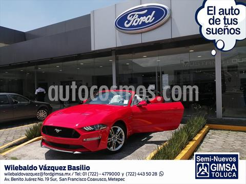 Ford Mustang V8 AT CONVERTIBLE 5.0L usado (2020) color Rojo precio $1,054,700