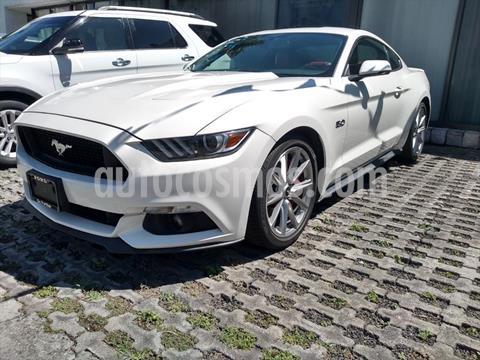 Ford Mustang GT 5.0L V8 Aut usado (2017) color Blanco precio $510,000