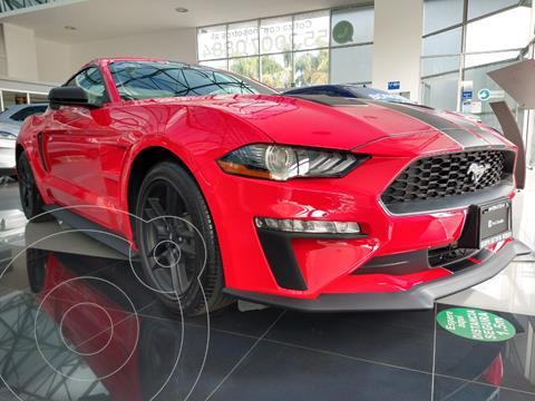 Ford Mustang EcoBoost Aut usado (2020) color Rojo Racing precio $750,000