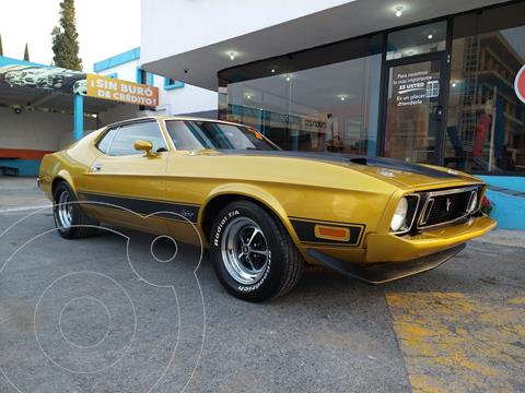 Ford Mustang Mach 1 usado (1973) color Dorado Oscuro precio $495,000