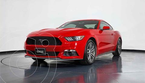 Ford Mustang EcoBoost Aut usado (2017) color Rojo precio $447,999