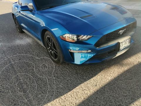 Ford Mustang EcoBoost Aut usado (2019) color Azul Relampago precio $550,000