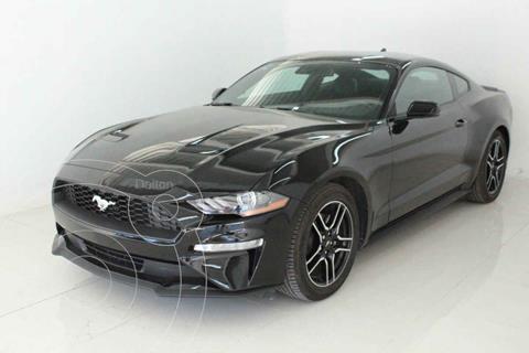 Ford Mustang EcoBoost Aut usado (2020) color Negro precio $699,000