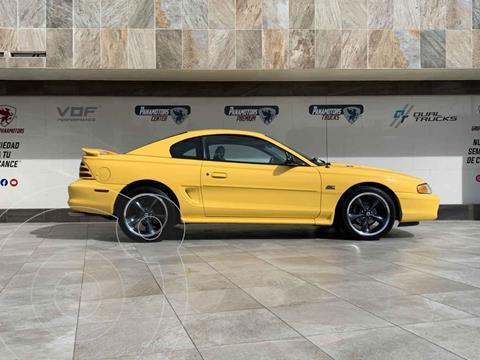 Ford Mustang GT Equipado 5.0L V8 usado (1995) color Amarillo precio $285,000