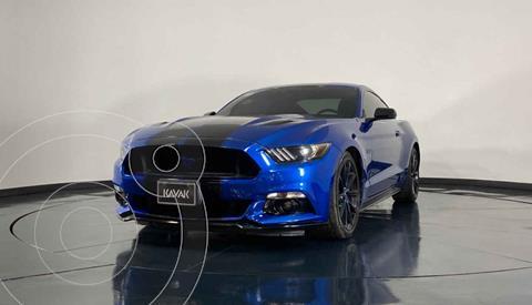 Ford Mustang EcoBoost Aut usado (2017) color Azul precio $544,999
