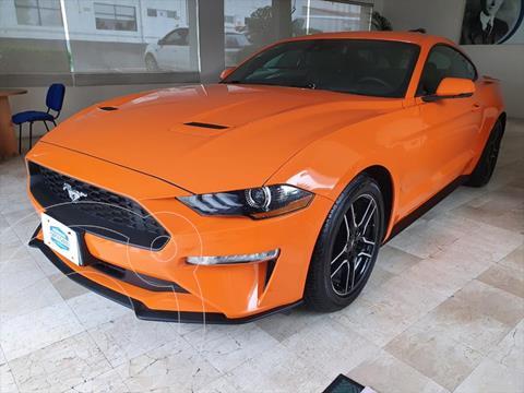 Ford Mustang ECOBOOST AT 2.3L usado (2020) color Naranja precio $699,000