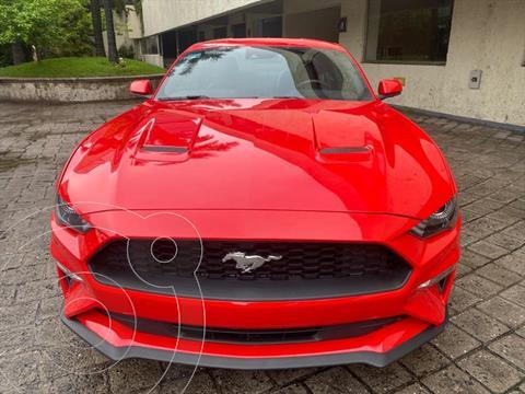Ford Mustang ECOBOOST AT 2.3L usado (2020) color Rojo precio $698,000