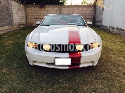 Ford Mustang GT Convertible Equipado Aut usado (2011) color Blanco precio $170,000