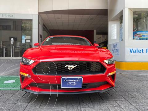 Ford Mustang EcoBoost Aut usado (2019) color Rojo precio $625,000