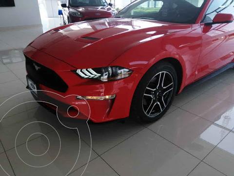 Ford Mustang EcoBoost Aut usado (2020) color Rojo precio $789,000