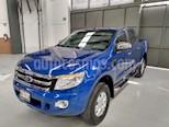 Foto venta Auto usado Ford Ranger 4p XLT Doble Cab L4/2.5 Man (2016) color Azul precio $300,000