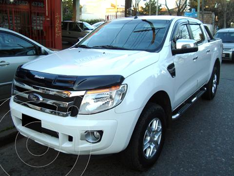 Ford Ranger XLT 3.2L 4x4 TDi CD usado (2013) color Blanco Oxford precio u$s18.000