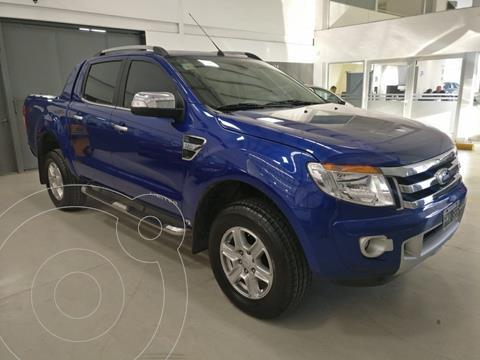 Ford Ranger Limited 3.2L 4x4 TDi CD  usado (2015) color Azul Aurora precio $1.700.000