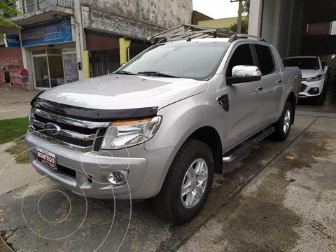 Ford Ranger Limited 3.2L 4x4 TDi CD Aut usado (2013) color Gris Mercurio precio $2.850.000