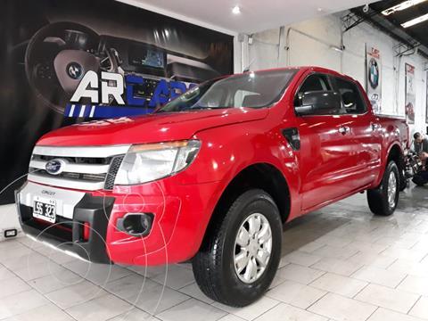 Ford Ranger XLS 3.2L 4x2 TDi CD usado (2012) color Rojo Bari financiado en cuotas(anticipo $1.500.000)