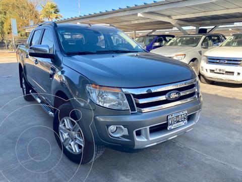 Ford Ranger XLT 3.2L 4x4 TDi CD Aut usado (2013) color Gris Oscuro precio $2.320.000