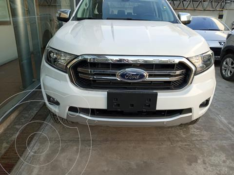 Ford Ranger Limited 3.2L 4x4 TDi CD usado (2021) color Blanco financiado en cuotas(anticipo $2.950.000 cuotas desde $65.000)